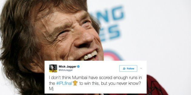 Who Would Have Ever Thought? Sir Mick Jagger Actually Watches