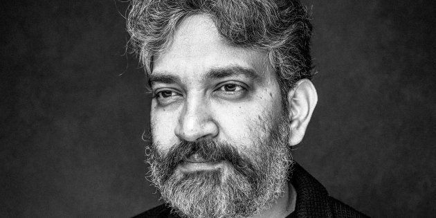 SS Rajamouli is photographed at a portrait session in London,