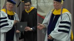 Indian Student Touching American Dean's Feet Proves That You Can't Take The Desi Out Of