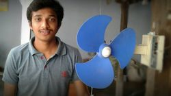 This Chennai Man Made A Fan For His Grandfather That Runs Without