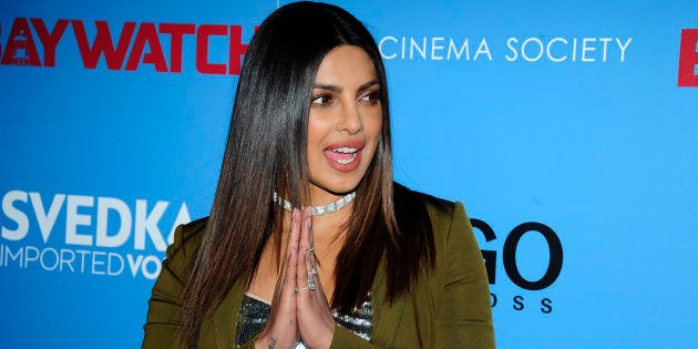 Priyanka Chopra attends The Cinema Society with Hugo by Hugo Boss, Women's Health & SVEDKA host a screening...