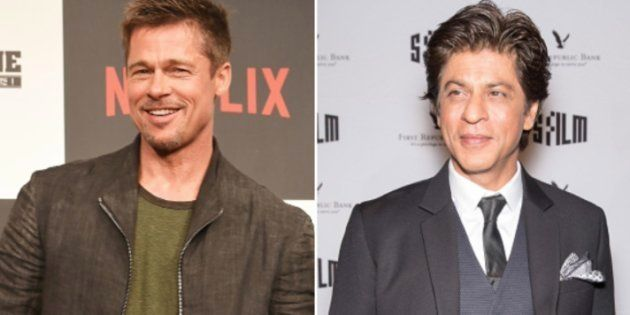 Brad Pitt Has Quietly Arrived In Mumbai And Is Going To Chill With Shah Rukh Khan