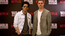 How Shah Rukh Khan (Almost) Eclipsed Brad Pitt When They Shared The Stage In