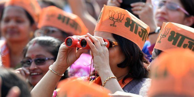 BJP Set To Push Past Congress In Manipur, Neck-And-Neck In Uttarakhand: HuffPost-CVoter