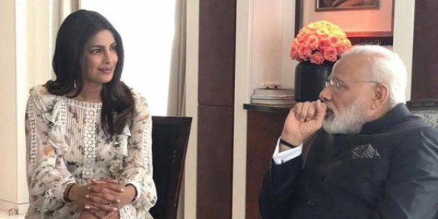 7 Reasons Why Priyanka Chopra's Legs Were Disrespectful To PM