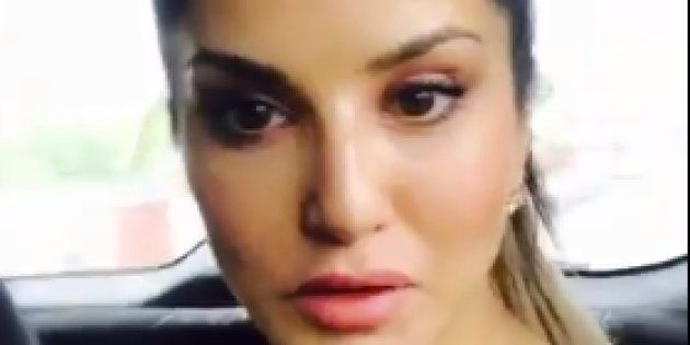 Lucky To Be Alive, Says Sunny Leone After Narrowly Escaping Plane