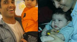 Tusshar Kapoor's Son, Laksshya, Celebrated His 1st B'Day With Fellow Toddler Taimur Ali