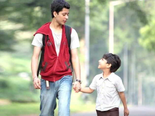Rajat Barmecha as the 17-year-old Rohan in a still from