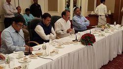 M Venkaiah Naidu Chairs Meeting On Anti-Smoking, Anti-Piracy Measures In Indian