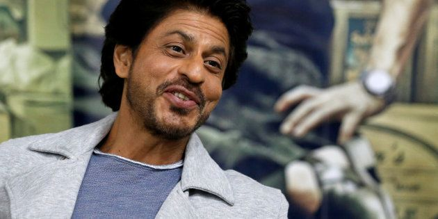 Bollywood actor Shah Rukh Khan speaks during an interview with Reuters in Mumbai, India, January 18,...