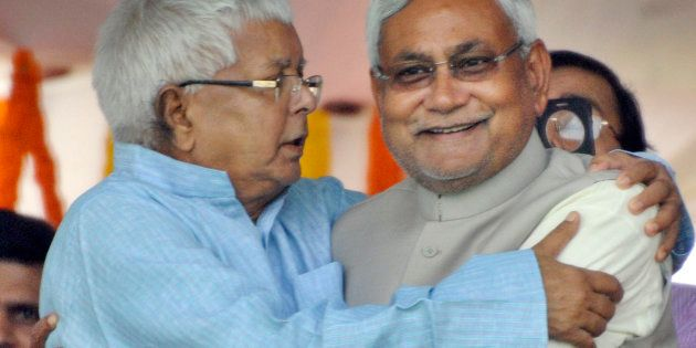 Freudian Slip Or A Simple Mistake? Lalu Prasad Yadav Sits On The CM's
