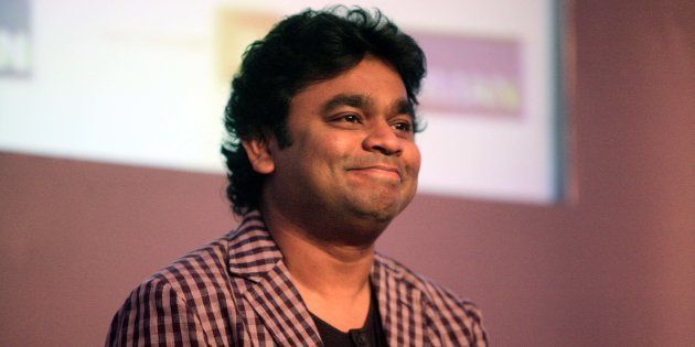 A.R. Rahman as the brand ambassador for the JBL India brand campaign 'Hear the truth' at ITC Grand Maratha...