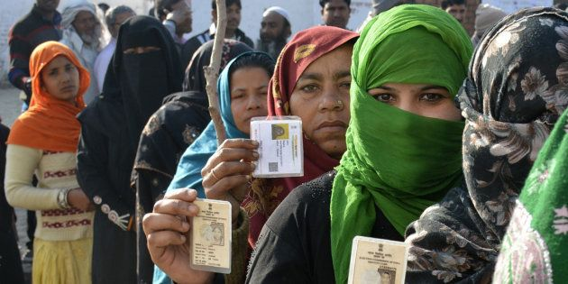 Voting Underway In The Second Phase Of Uttar Pradesh Assembly