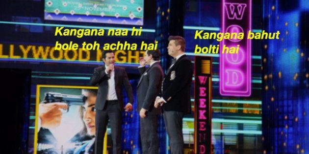 A Bunch Of Bollywood's Entitled Star Kids Just Proved Kangana Ranaut Right At The IIFA