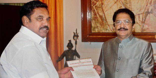 Meet Edappadi K. Palanisamy, The Man About To Take Over As Tamil Nadu