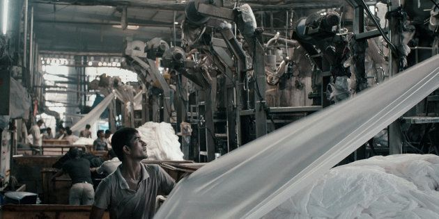 A scene from Rahul Jain's Machines | Kino Lorber