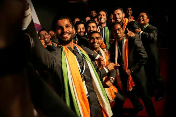 Indian Men's Hockey Team For Rio