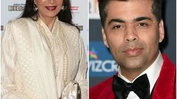 Simi Garewal Is Mighty Pissed With Karan Johar After He Allegedly Tried To Replace Her As Awards Show