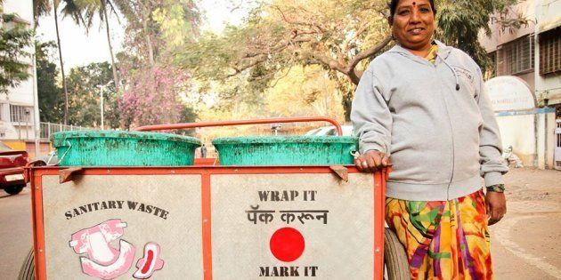 These Women Waste-Pickers Want People To Mark Used Sanitary Napkins, Diapers While Disposing