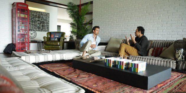 Hrithik Roshan with Interior Designer Ashiesh