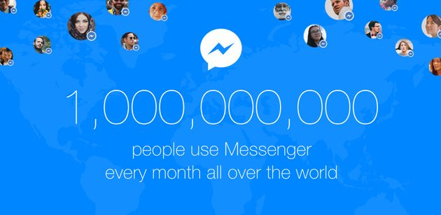 Facebook Messenger Becomes The Second Chat App To Cross 1 Billion User