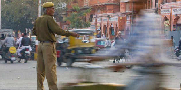 Rajasthan BJP MLA's Husband Slaps Police Officer For Refusing To Cancel