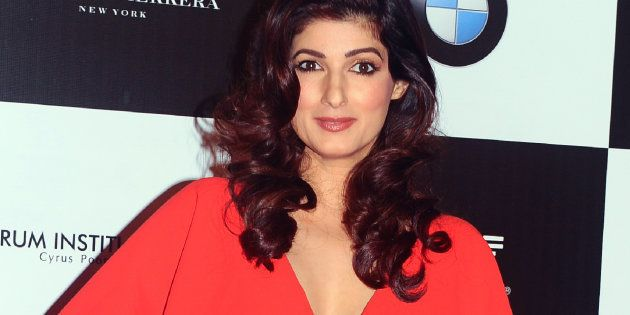 Twinkle Khanna poses for a photo at the 'Vogue Women of the Year Awards' event in Mumbai on September...