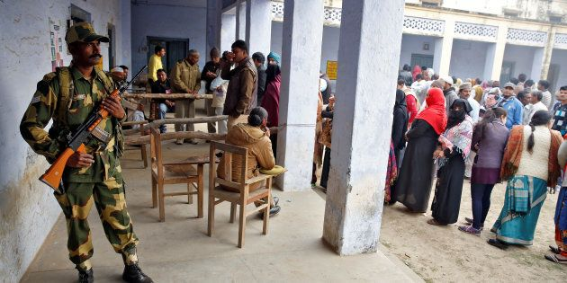 Voting Begins In 53 Constituencies For The Fourth Phase Of UP Assembly