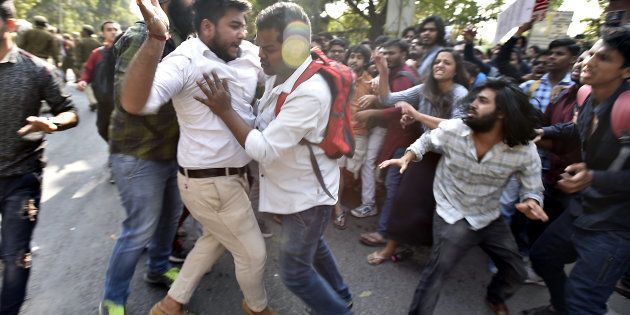 The Day I Saw My Friends Get Beaten Up In Front Of My Eyes At Ramjas