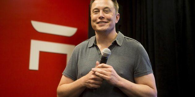 Tesla CEO Elon