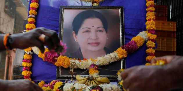 DMK Calls For Removal Of Jayalalithaa's Portraits From Government
