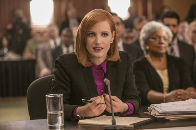 Jessica Chastain in a still from 'Miss.