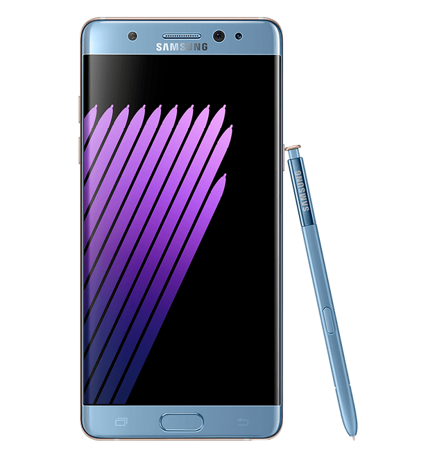 Samsung Launches Galaxy Note7 With Iris