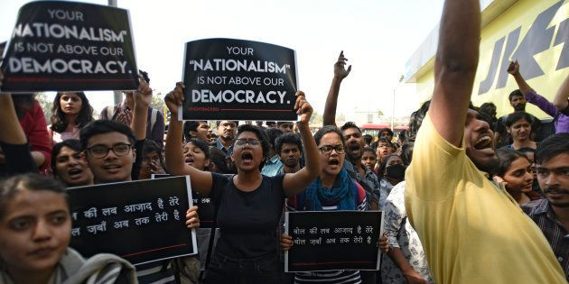 Students, Teachers From DU, JNU, Jamia March To Reclaim The Space For Dissent In