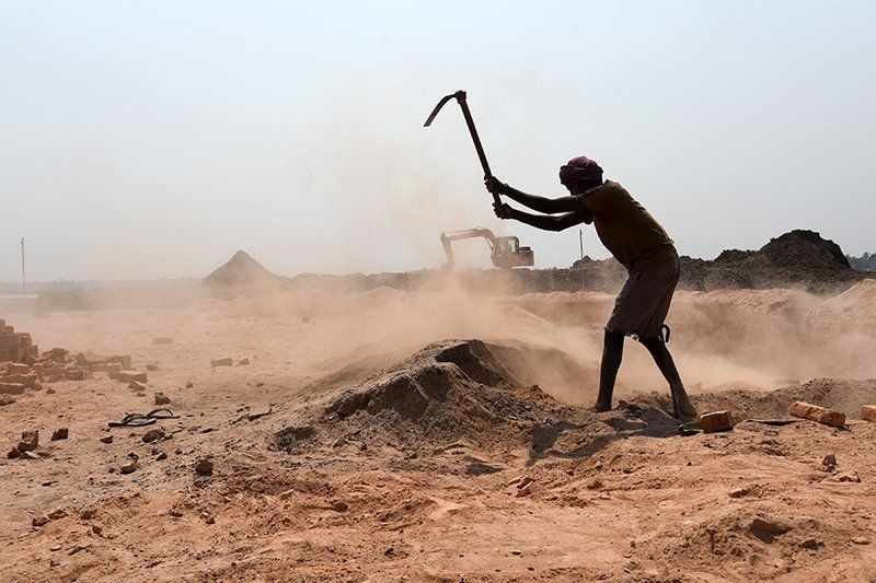 At least 10 million labourers in India are employed in the unorganised brick kiln industry, toiling under...