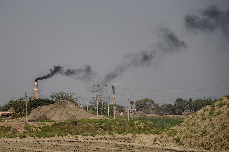 In April 2015, the National Green Tribunal's Kolkata bench asked the district magistrates of North and South 24 Parganas to shut down more than 600 illegally operating brick kilns. Legal activist Joydeep Mukherjee has filed a PIL seeking closure of the illegal brick kilns. The NGT bench had earlier fined the Murshidabad district administration ₹5000 for not filing a proper affidavit on the brick kilns in the district. The administrations of South and North 24 Parganas have stated that there are 250 and 361 brick kilns in the two districts respectively. However, there are only nine authorised brick kilns in South 24-Parganas and 86 in North 24-Parganas.