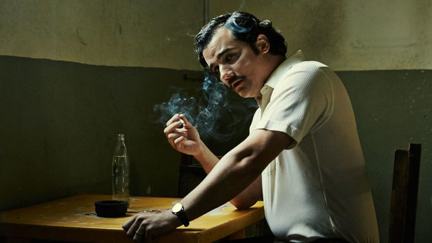 Wagner Moura as Pablo Escobar in Netflix's