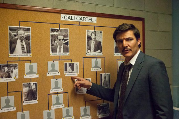 Pedro Pascal in a still from the Season 3 of