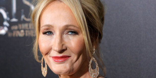 Author J.K. Rowling attends the premiere of
