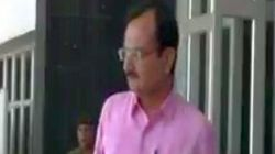 Shoes Hurled At Gujarat Home Minister Outside State Assembly