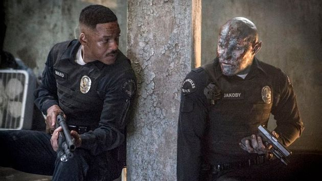 Will Smith and Joel Edgerton in a still from