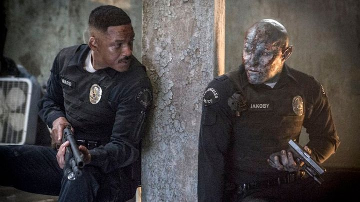Will Smith and Joel Edgerton in a still from 'Bright'