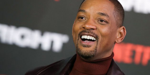Will Smith attends the European Premeire of 'Bright' held at BFI Southbank on December 15, 2017 in London, England.