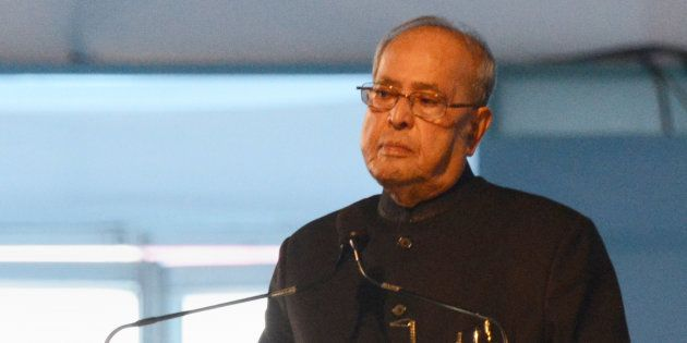 File photo of the Indian President, Pranab