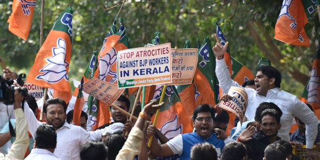 Three RSS Men, One BJP Worker Allegedly Hacked By CPI(M) Activists In