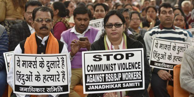 CPI(M) In Kerala Has Become Intolerant, Will Organise Mass Movement Against Their Violence, Says