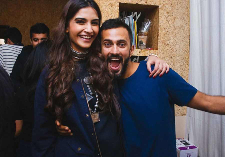 Sonam Kapoor with beau Anand