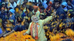 UP Could Be Headed For Hung House, BJP Largest Party: HuffPost-CVoter Exit