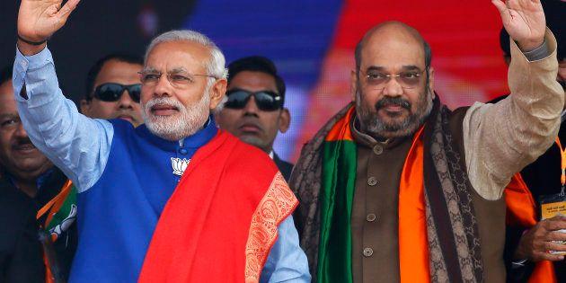Uttar Pradesh Elections: BJP Says PM Modi, Amit Shah Responsible For Party's Landslide