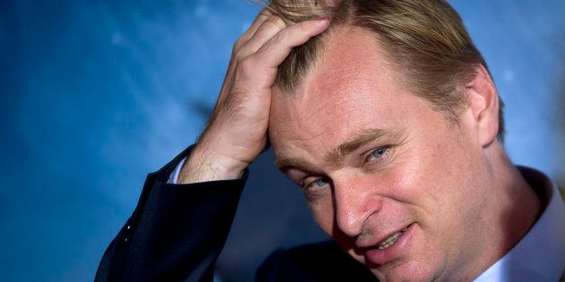 Director Christopher Nolan arrives for the premiere of the